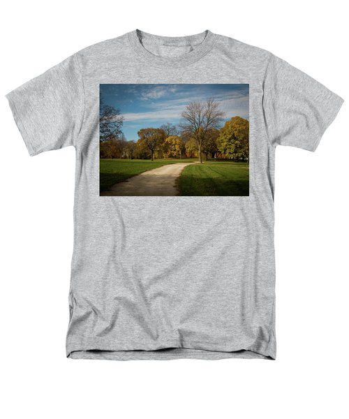Washington Walkway Men's T-Shirt  (Regular Fit) by Kimberly Mackowski