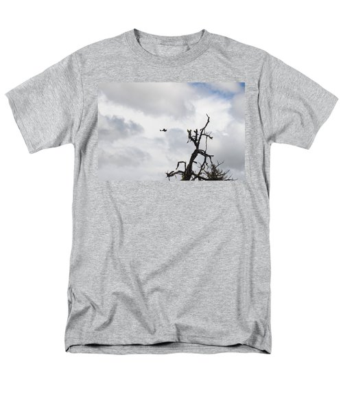 Men's T-Shirt  (Regular Fit) featuring the photograph Watch Out For That Tree by Marie Neder