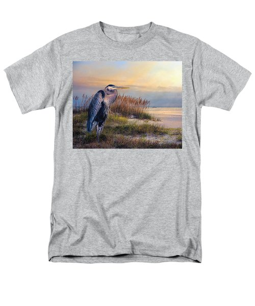 Watching The Sun Go Down Men's T-Shirt  (Regular Fit) by Brian Tarr