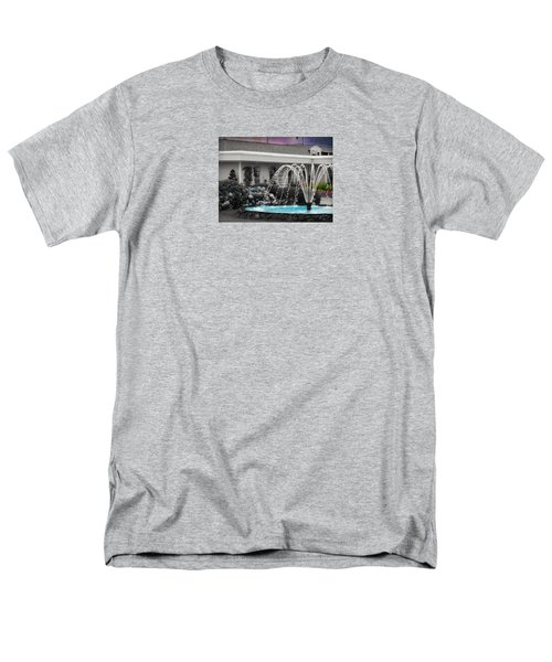 Water Fountain Men's T-Shirt  (Regular Fit) by Robin Regan