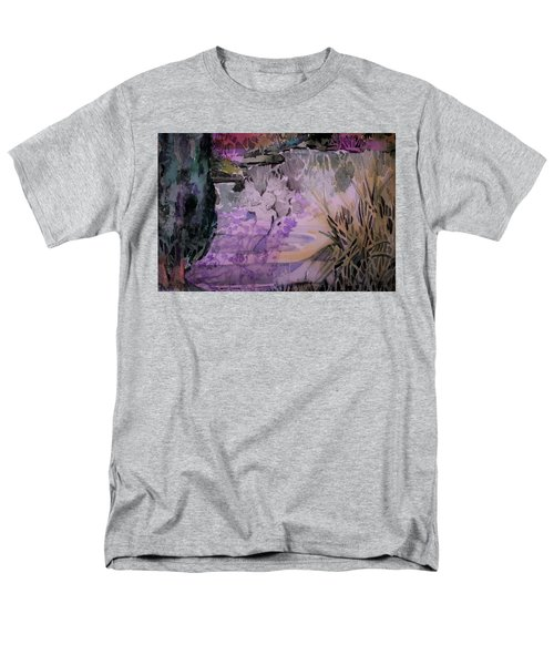 Men's T-Shirt  (Regular Fit) featuring the painting Water Sprite by Mindy Newman
