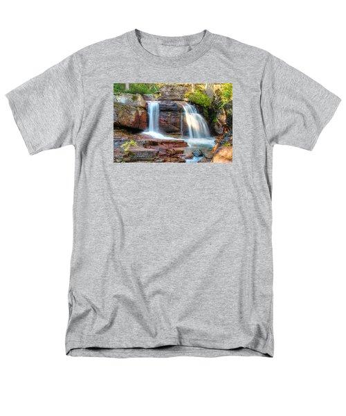Waterfall Men's T-Shirt  (Regular Fit) by Gary Lengyel
