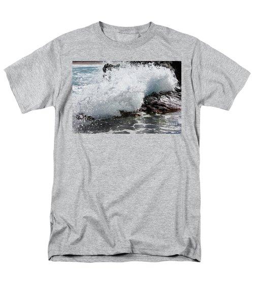 Wave Smash Men's T-Shirt  (Regular Fit) by Nicholas Burningham