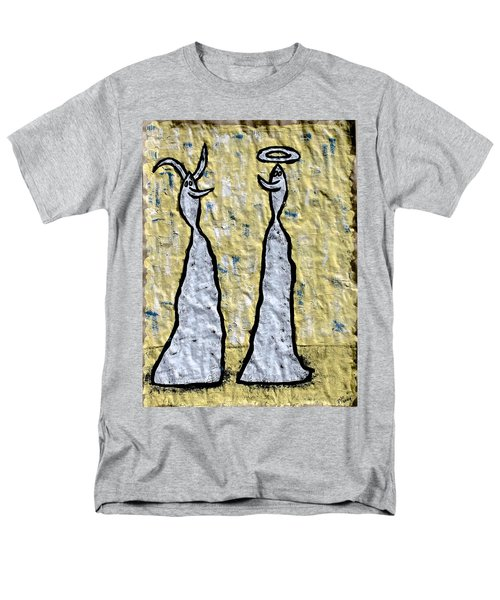 We Are Much Alike You And I Men's T-Shirt  (Regular Fit) by Mario Perron