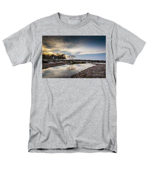 Webster Ny Lake View Men's T-Shirt  (Regular Fit)