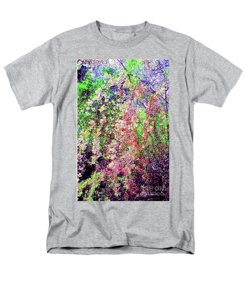 Men's T-Shirt  (Regular Fit) featuring the painting Weeping Cherry by Holly Martinson
