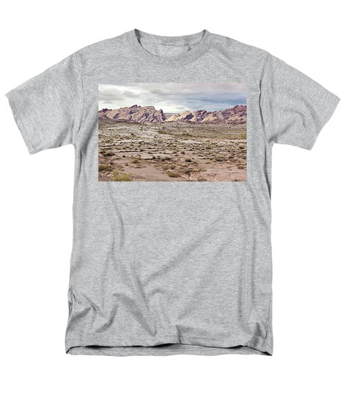 Men's T-Shirt  (Regular Fit) featuring the photograph Weird Rock Formation by Peter J Sucy