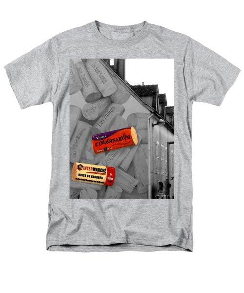 Men's T-Shirt  (Regular Fit) featuring the photograph Welcome To Bordeaux by Joan  Minchak