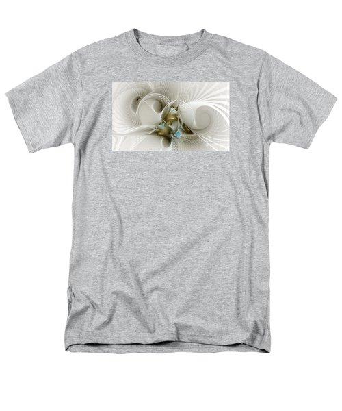 Welcome To The Second Floor-fractal Art Men's T-Shirt  (Regular Fit) by Karin Kuhlmann