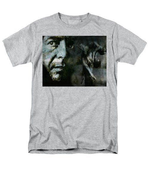 Men's T-Shirt  (Regular Fit) featuring the painting Well , I've Heard There Is A Secret Chord by Paul Lovering