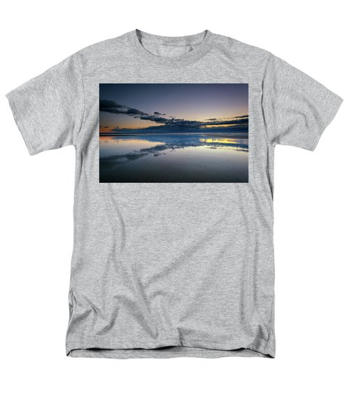 Men's T-Shirt  (Regular Fit) featuring the photograph Wells Beach Reflections by Rick Berk