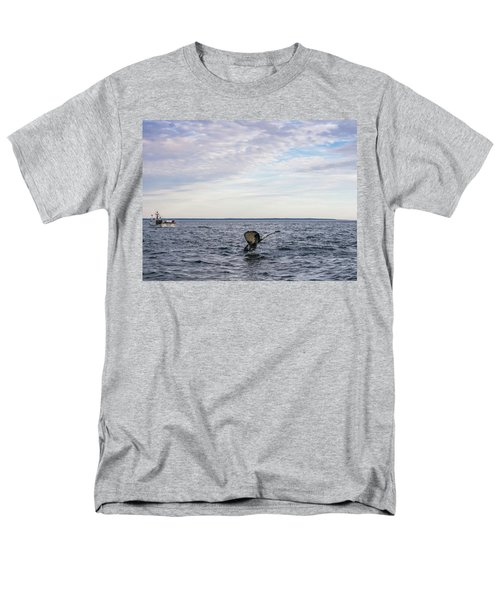 Men's T-Shirt  (Regular Fit) featuring the photograph Whale Watching In Canada by Trace Kittrell