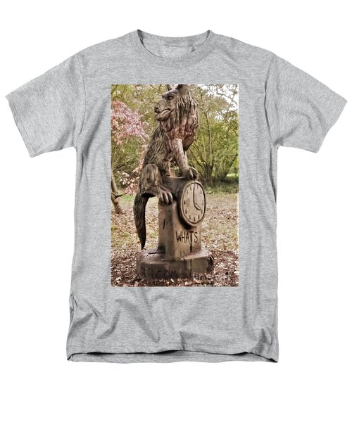 Whats The Time Mr Wolf Men's T-Shirt  (Regular Fit) by John Williams