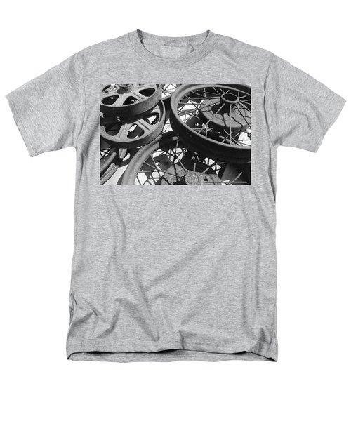 Wheels Of Time Men's T-Shirt  (Regular Fit) by Tim Good