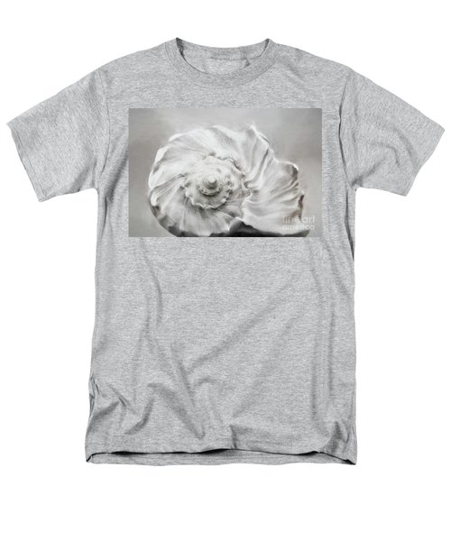 Men's T-Shirt  (Regular Fit) featuring the photograph Whelk In Black And White by Benanne Stiens