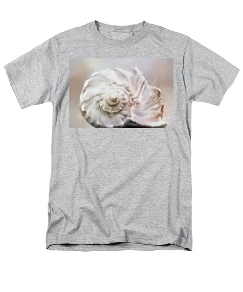 Men's T-Shirt  (Regular Fit) featuring the photograph Whelk Shell by Benanne Stiens