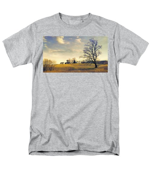 When I Come Back Men's T-Shirt  (Regular Fit) by John Rivera