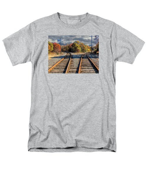 Men's T-Shirt  (Regular Fit) featuring the photograph Which Way by Constantine Gregory