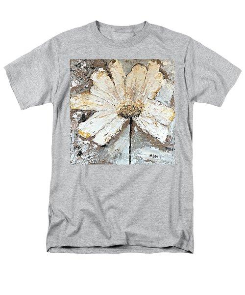 White Daisy Men's T-Shirt  (Regular Fit)