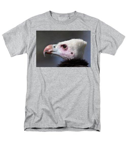 White-headed Vulture Portrait Men's T-Shirt  (Regular Fit) by Aivar Mikko