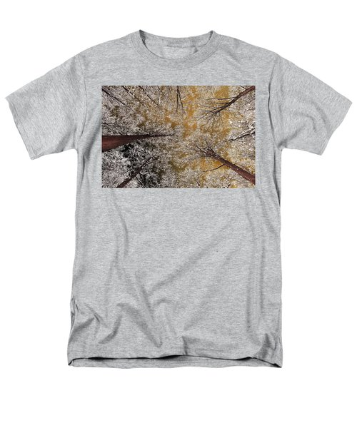 Men's T-Shirt  (Regular Fit) featuring the photograph Whiteout by Tony Beck