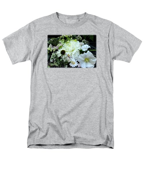 Men's T-Shirt  (Regular Fit) featuring the photograph Whites And Pastels by Tanya Searcy