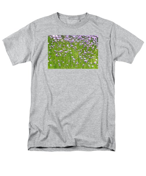Men's T-Shirt  (Regular Fit) featuring the photograph Wild Chives by Chevy Fleet