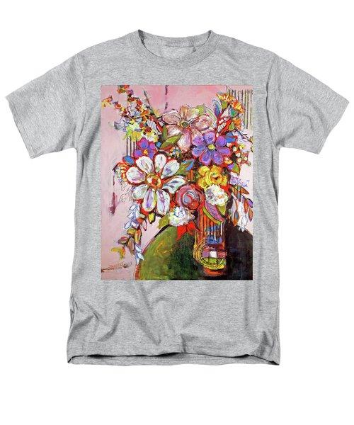 Wild Flowers Men's T-Shirt  (Regular Fit) by Sharon Furner