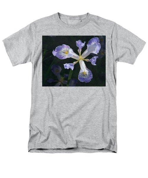 Wild Iris 2 Men's T-Shirt  (Regular Fit) by I'ina Van Lawick