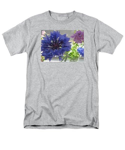 Wildflower Fluff Men's T-Shirt  (Regular Fit) by Barbara McDevitt