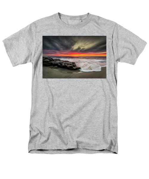 Men's T-Shirt  (Regular Fit) featuring the photograph Will Of The Wind by Peter Tellone