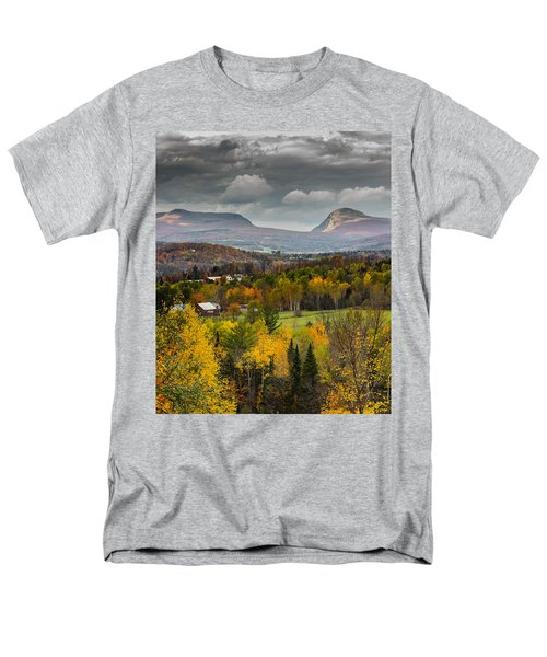 Willoughby Gap Late Fall Men's T-Shirt  (Regular Fit) by Tim Kirchoff