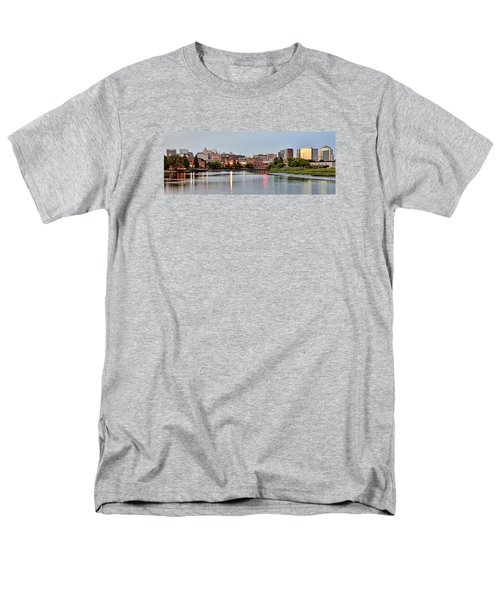 Wilmington Delaware At Dusk Men's T-Shirt  (Regular Fit) by Brendan Reals