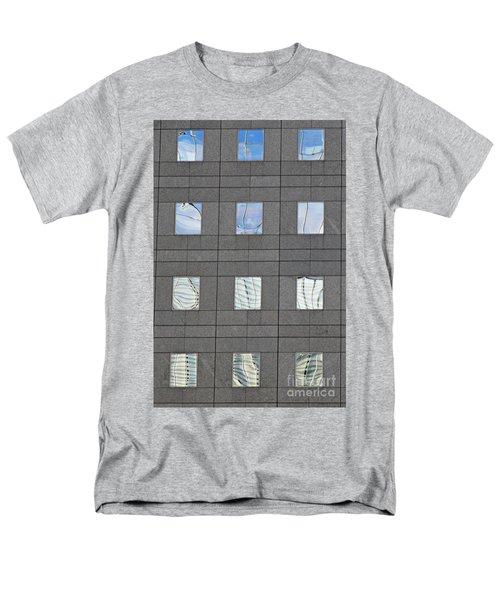 Men's T-Shirt  (Regular Fit) featuring the photograph Windows Of 2 World Financial Center   by Sarah Loft