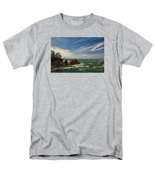 Windswept Day Men's T-Shirt  (Regular Fit) by Tom Kelly