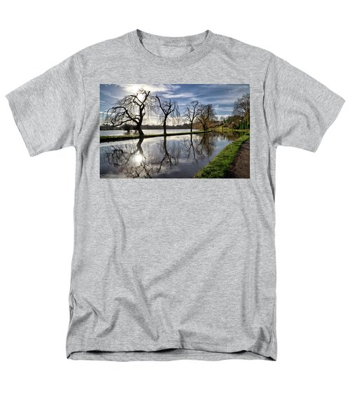 Men's T-Shirt  (Regular Fit) featuring the photograph Winter Sun by Shirley Mitchell