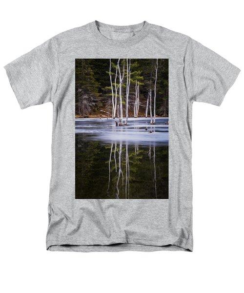Winter Thaw Relections Men's T-Shirt  (Regular Fit) by Tom Singleton
