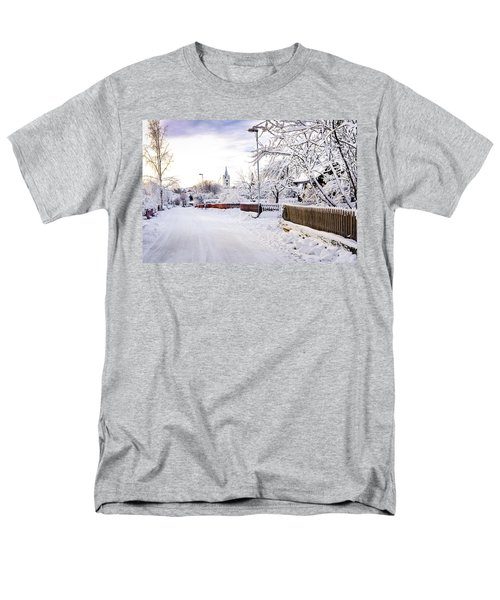 Winter Wonderland Men's T-Shirt  (Regular Fit) by Marius Sipa