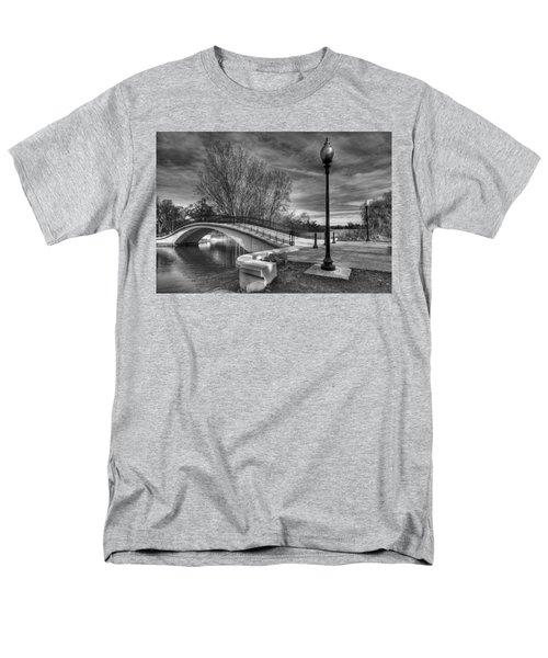 Winter's Bridge Men's T-Shirt  (Regular Fit)