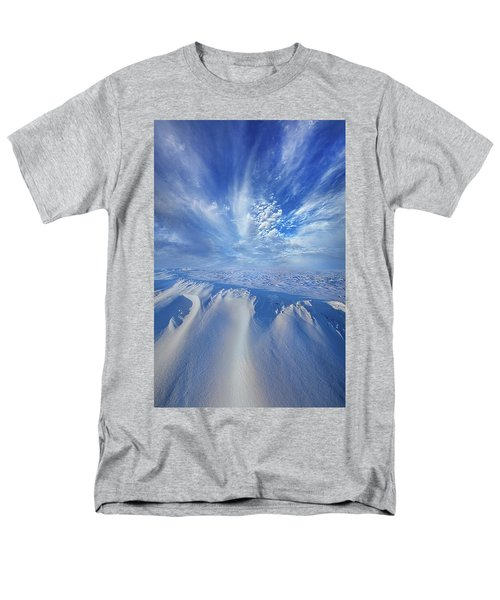 Men's T-Shirt  (Regular Fit) featuring the photograph Winter's Hue by Phil Koch