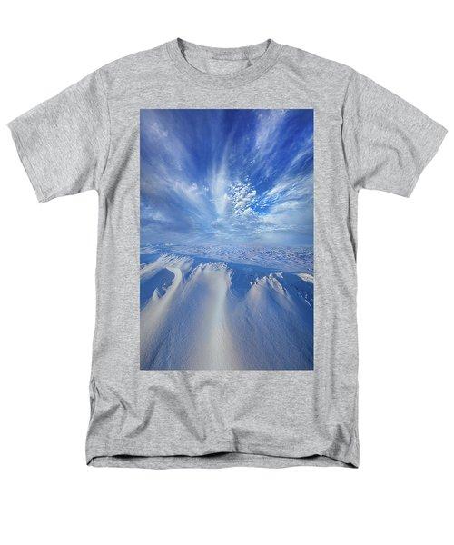 Men's T-Shirt  (Regular Fit) featuring the photograph Winter's Hue by Phil Koch