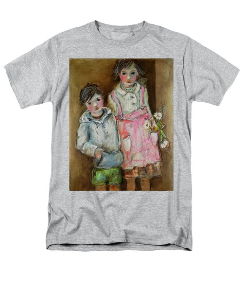 Wishes On A Daisy Men's T-Shirt  (Regular Fit) by Sharon Furner