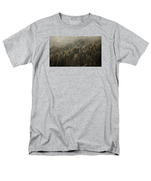 Woods In Winter Men's T-Shirt  (Regular Fit) by Vittorio Chiampan