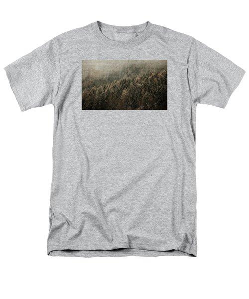 Woods In Winter Men's T-Shirt  (Regular Fit)
