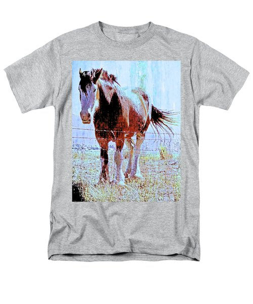 Workhorse Men's T-Shirt  (Regular Fit) by Cynthia Powell