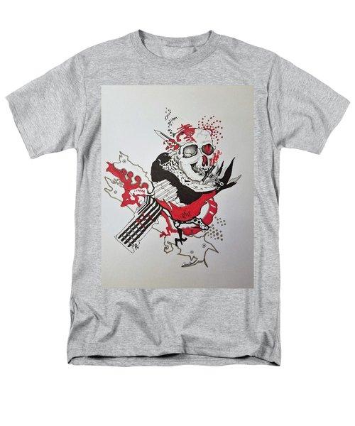 World Down-side-up Men's T-Shirt  (Regular Fit) by Kevin F Heuman