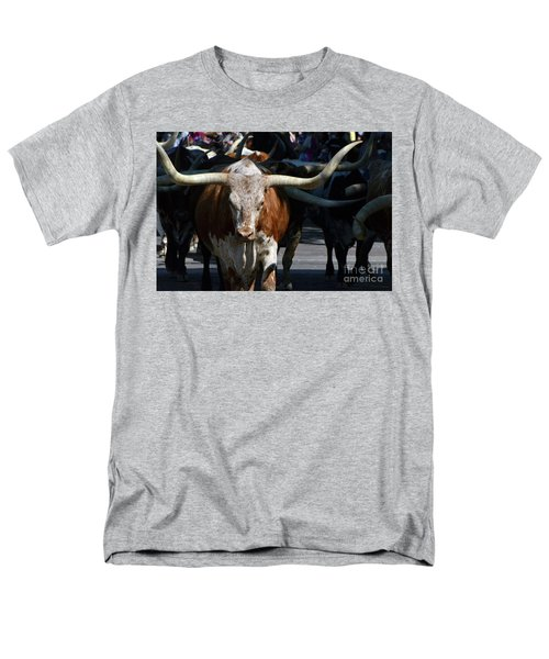 Men's T-Shirt  (Regular Fit) featuring the photograph Ya'all Be Careful Now..... by Debby Pueschel