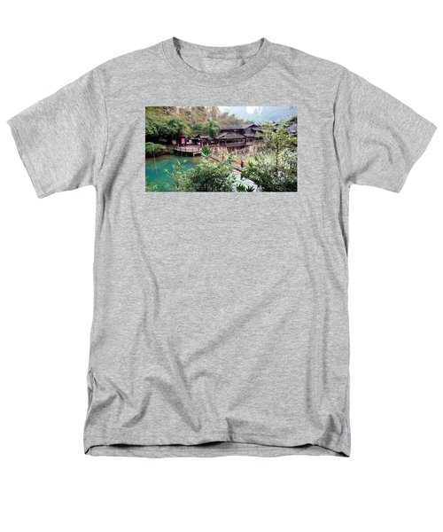 Yangtze Village Men's T-Shirt  (Regular Fit) by Vicky Tarcau