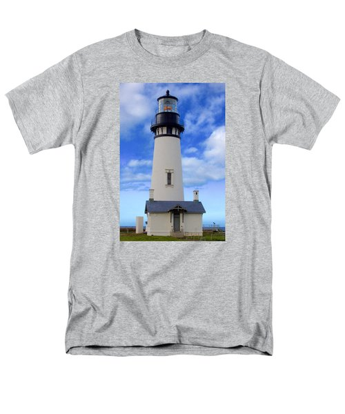 Yaquina Head Lighthouse Men's T-Shirt  (Regular Fit) by Todd Kreuter