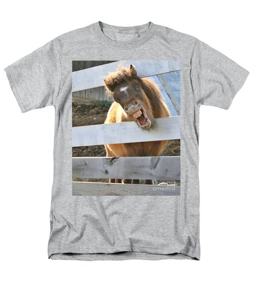 Men's T-Shirt  (Regular Fit) featuring the photograph Yee Haw by Heather King